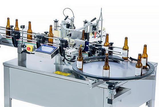 Vollautomatische Etikettiermaschinen Flaschen, Gläser, Kunststoff