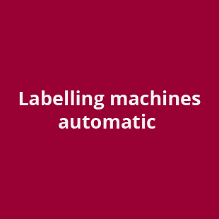labelling machines automatic