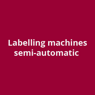 labelling machines semi-automatic